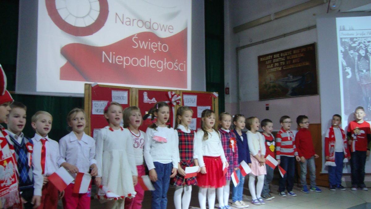 Święto Niepodległości w naszej szkole