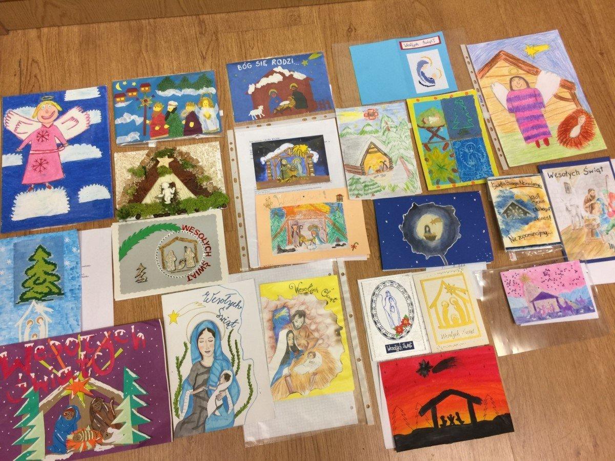 Caritas – rozstrzygnięty konkurs na kartkę świąteczną