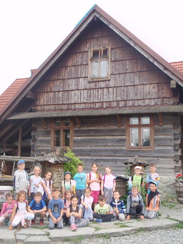 Klasa 1c w Chlebowej Chacie